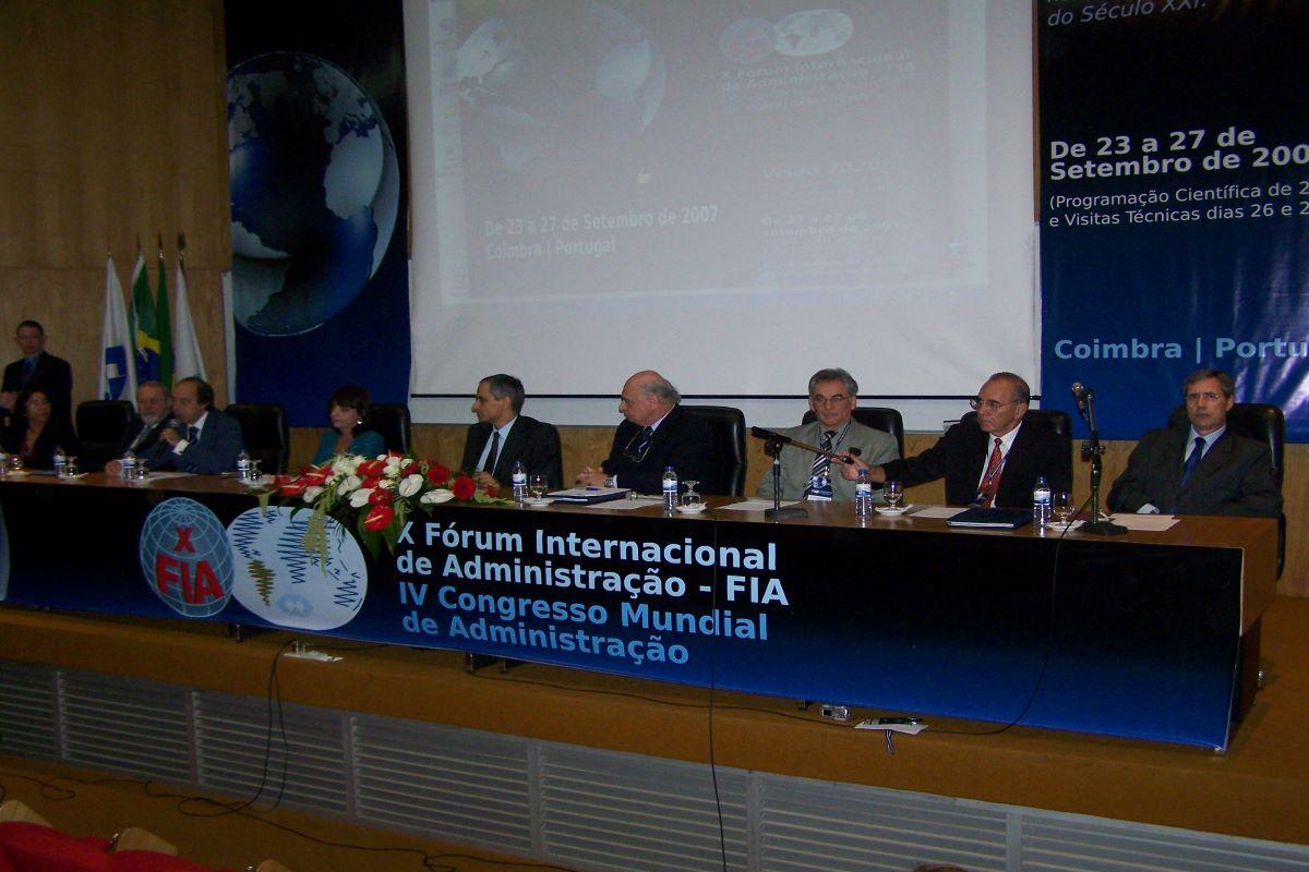 Congresso Mundial Adm - Coimbra/Portugal