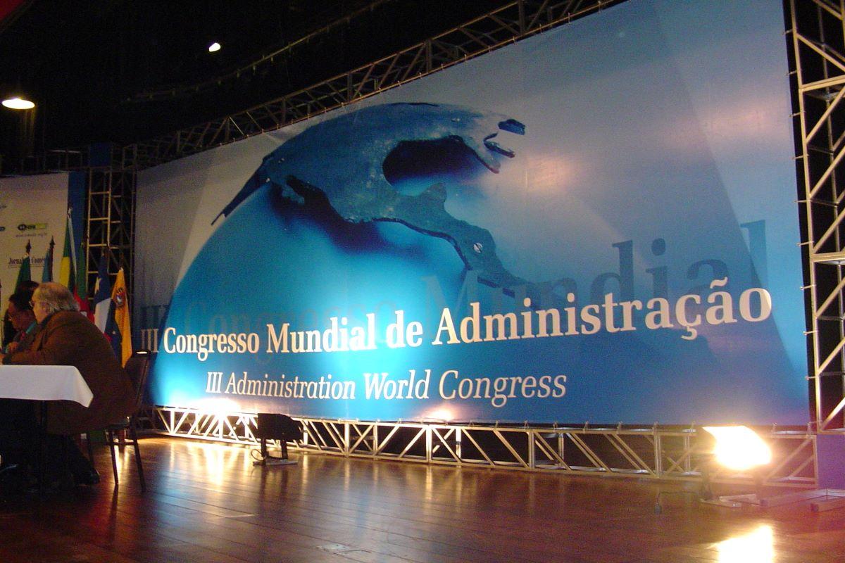 Congresso mundial administração - Gramado