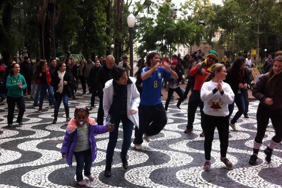 Flashmob Dança Brasil